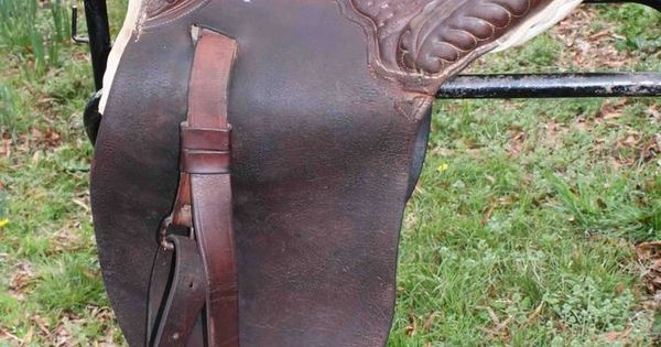 Antique Plantation Saddle 1890 Early 1900 S Vintage