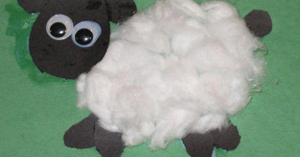 fuzzy lamb craft