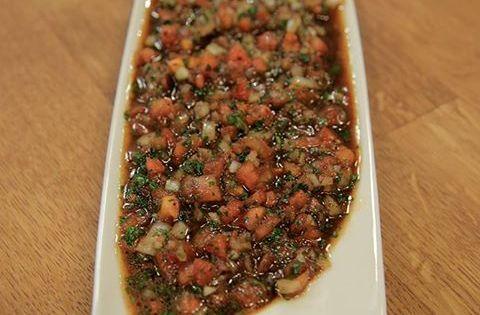 Arda 39 nin mutfa i acili ezme tar f televizyon for Arda turkish cuisine