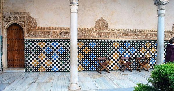 Mozaiek alhambra in granada mozaiek pinterest moza eken badkamer en tekenen - Idee mozaieken badkamer ...