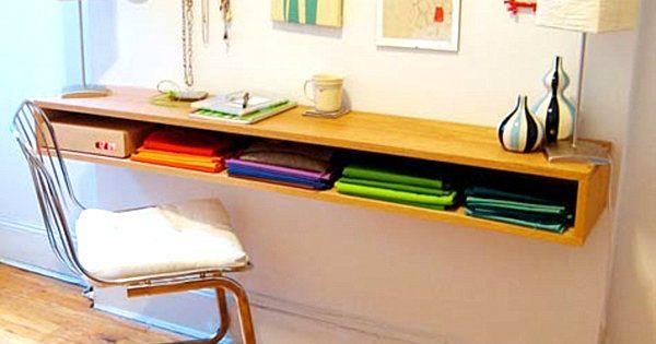 Decor: 12 Desk Ideas for Small Spaces | SuperMama