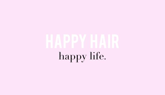 Quotes For Hair Spa: Happy Hair, Happy Life! #KeratinComplex