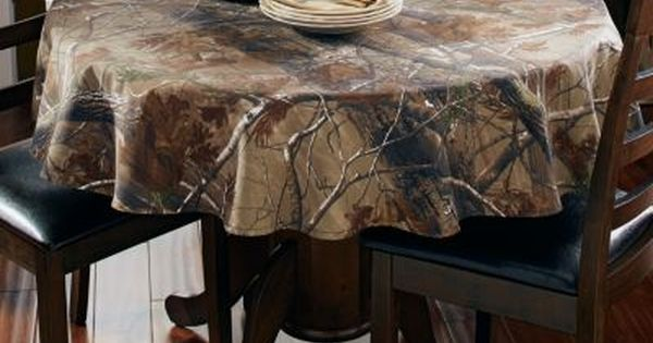 New Realtree Ap Camo Tablecloth 56 Quot Round