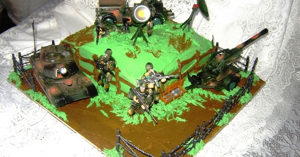 army birthday cake ideas - Google Search | Birthdays ...