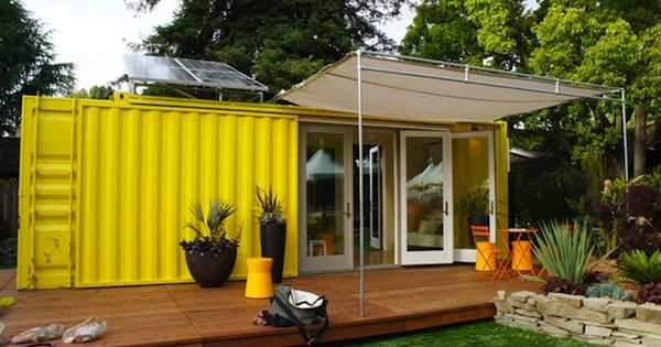 How To Turn A 2000 Shipping Container Into An Epic Off Grid Home Square Footage Pinterest