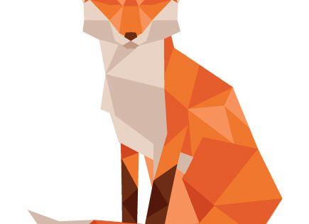 Low Poly Animals by Jennifer Tamochunas, via Behance