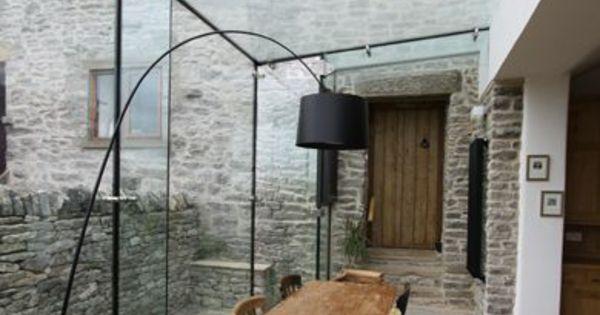 Moderne terrassengestaltung 100 bilder und kreative for Moderne bilder glas