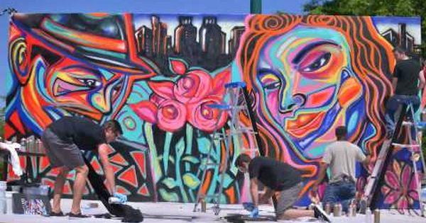 Commission a mural atlanta mural artist african american for Atlanta mural artist