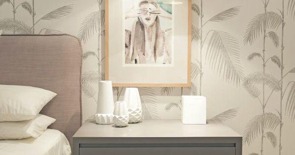 Habitaci n con papel pintado dormitorios quartos for Papel pintado habitacion matrimonio