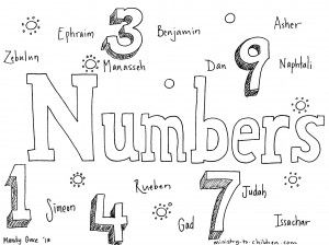 Book Of Numbers Bible Coloring Page For Children Bible Coloring Pages Bible Verse Coloring Page Bible Coloring