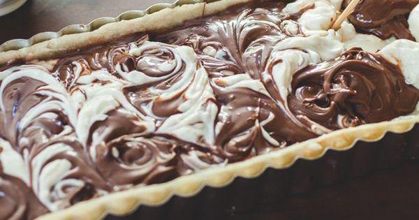 :: NUTELLA MASCARPONE CHOCOLATE TART (coco+kelley) | Chocolate Tarts ...