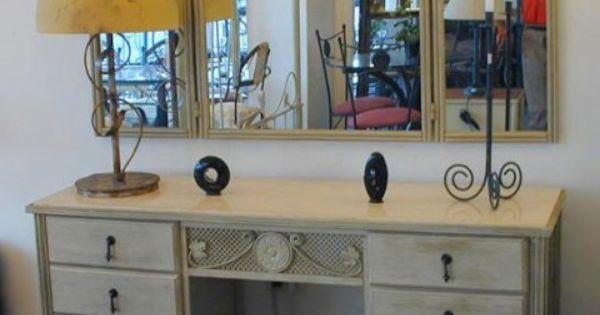 Muebles patinados decoraci n dise o objetos - Objetos decoracion diseno ...