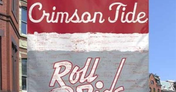 Alabama Crimson Tide 27 X 37 Vertical College Vault Banner Flag Love Fanaticswishlis Alabama Crimson Tide Alabama Crimson Tide Football Alabama Roll Tide