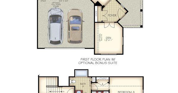 Optional 2nd Floor Bonus Suite