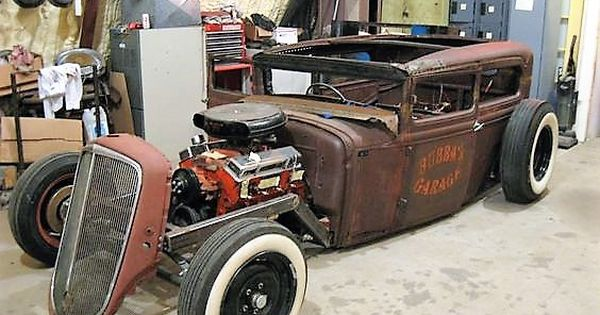 Rat rod o kustom kulture rat rods and custom paint pinterest sciox Gallery