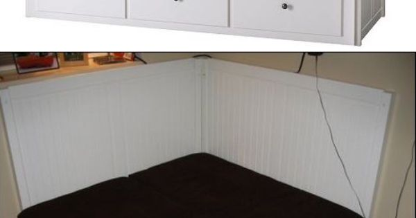 Ikea Hack Hemnes Day Bed Turned Into A Banquette Ikea