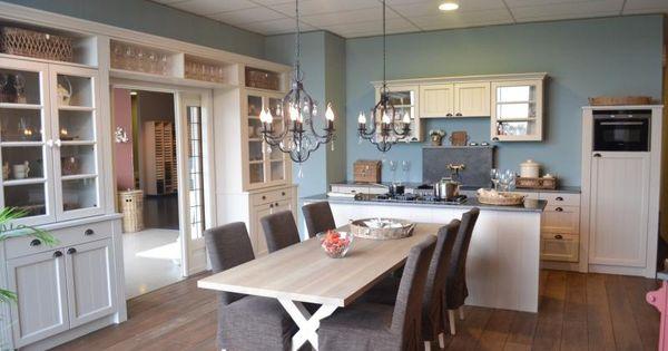 Witte Keukenstoelen Ikea : Landelijke keuken model twice Keuken ...