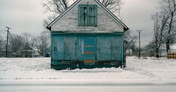 100 Abandoned Houses in Detroit, Michigan by Kevin Bauman. Great series. Its