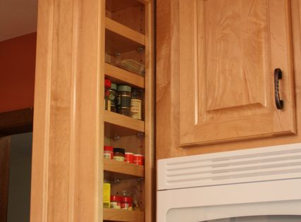 Built In Spice Rack Hidden Spice Racks Built In With Ultimate Convenience For The Savvy Upper Kitchen Cabinets Pull Out Spice Rack Spice Rack Upper Cabinet