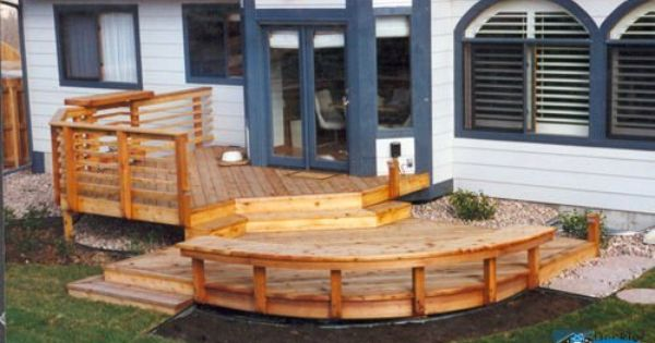 Small, but functional deck | Dream Home | Pinterest ...