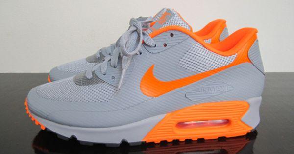 Nike Air Max 90 Hyperfuse - Stealth - Total Orange - SneakerNews ...