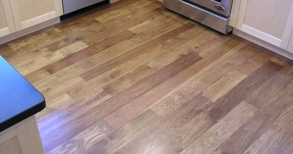 Light Hickory Stain Kitchen Hickory Flooring Pinterest