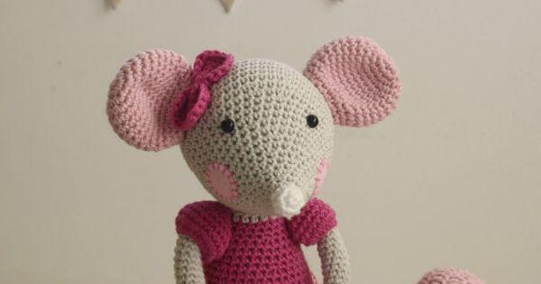 PATTERN - Ballerina-Mouse - crochet pattern, amigurumi ...