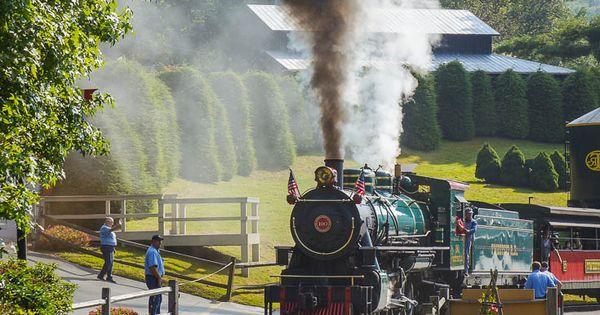 Rootin Tootin Fun At The Tweetsie Railroad In North