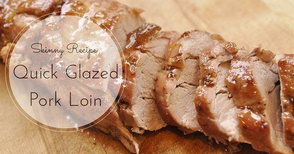 Glazed pork, Pork loin and Pork on Pinterest