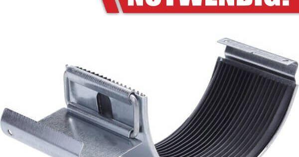 eine rinnenverbinder zum stecken aus zink verbindet zwei dachrinnenteile miteinander l ten ist. Black Bedroom Furniture Sets. Home Design Ideas