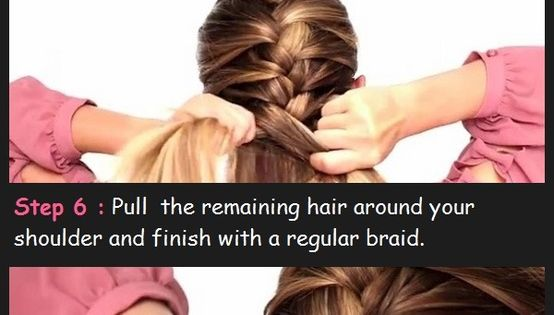 Easy French braid