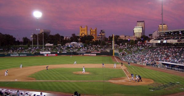 Raley Field In West Sacramento Home Of The River Cats Nice Facility Good Team Great Baseball Sacramento River Vacation Activities West Sacramento