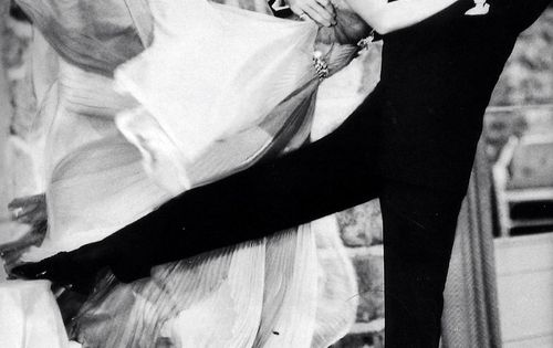 Ginger Rogers and Fred Astaire dancing should be seen by every generation/