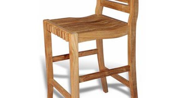 Regal Teak Rbar Chip Chippendale Teak Bar Chair Bar Chairs