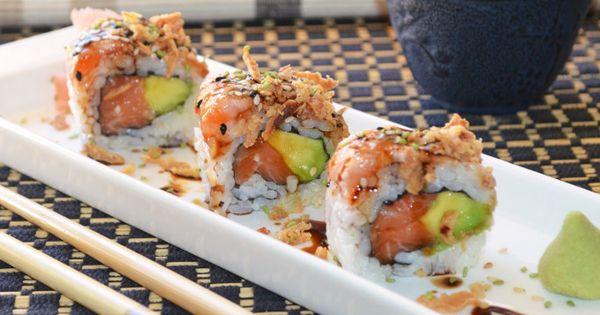 Nuevas Recetas De Sushi Para Conquistar Sushi Recetas Sushi Roll Sushi Recetas Como Hacer