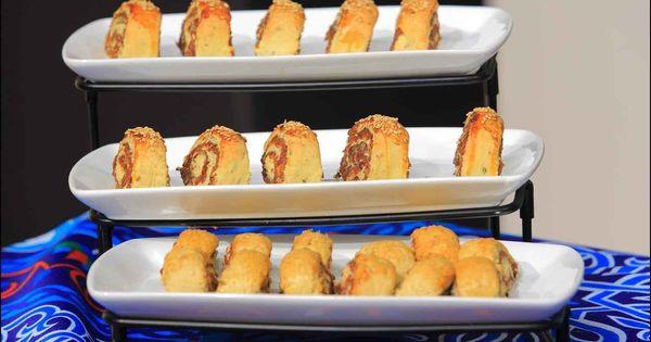 طريقة عمل المنين بالعجوة سالي فؤاد Bakery Breakfast Desserts