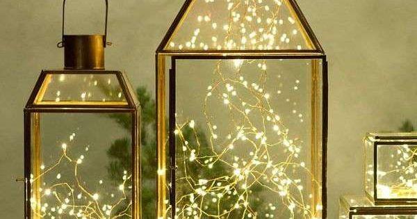 Lanterne natalizie lanterne moderne lanterne natale e - Decorazioni natalizie moderne ...