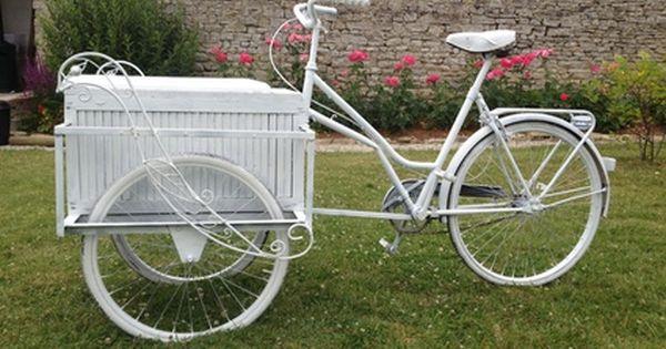V lo triporteur d co mariage calvados triporteur pinterest triporteur velo triporteur - Deco jardin velo paris ...