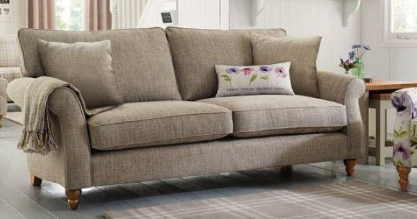 buy ashford large sofa 3 seats versatile check lawson dove lowturned dark from the next uk. Black Bedroom Furniture Sets. Home Design Ideas