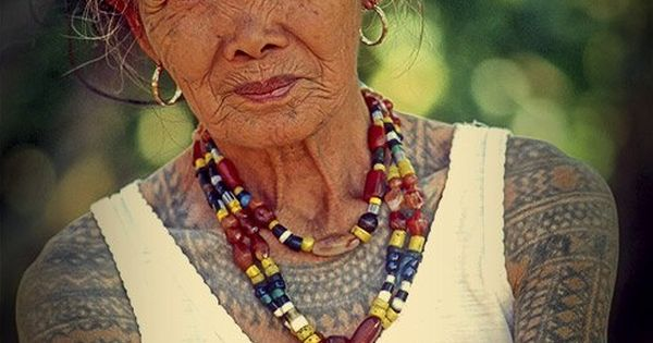 Salute for whang od this strikingly beautiful 92 year old for Tattoos that last a year