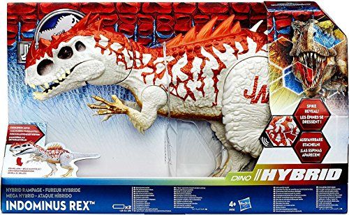 Discounted Jurassic World Dino Hybrid Indominus Rex Action Figure Indominus Rex Jurassic World Action Figures