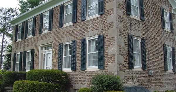 Main folder list cobblestone houses for Cobblestone shutters