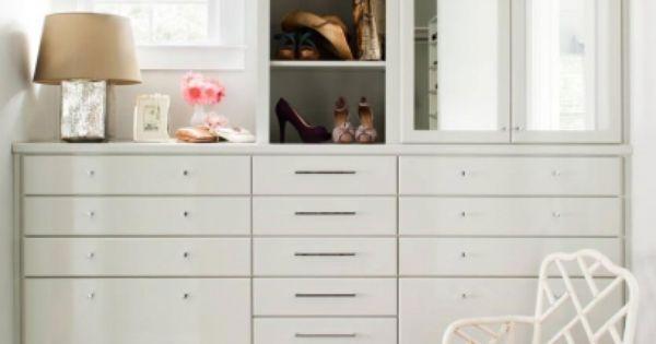 Custom his hers walk in closet design idea with custom for His and hers walk in closet designs