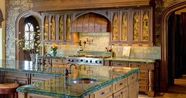 Dromborg castle homes of the rich the web 39 s 1 luxury for Italian kitchen models