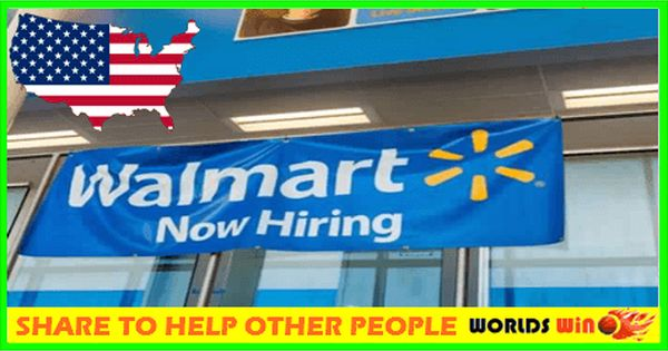 Job Openings In Walmart Usa Apply Now