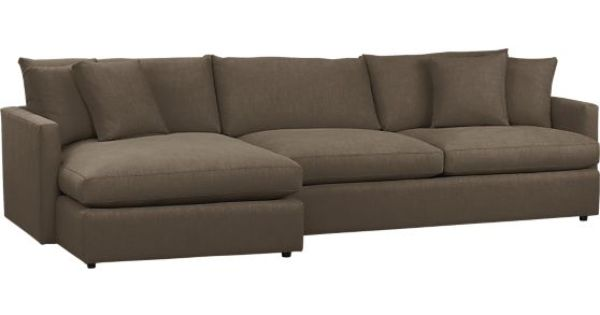 The most comfortable couch ever lounge 2 piece sectional for Most comfortable sectional sofa ever