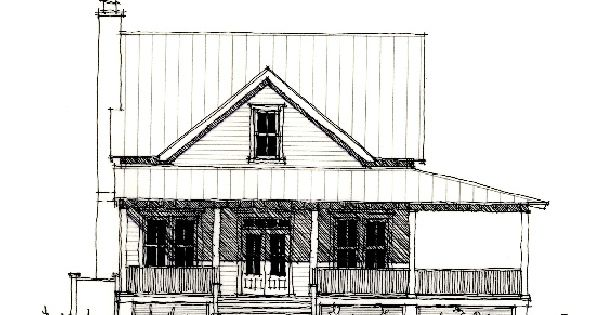Exterior house colors for small houses - Allison Ramsey Architects Floorplan For The Pocotaligo