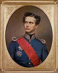 Ludwig Ii Gemalde Von Wilhelm Tauber 1864 Ludwig Bayern Romisches Reich