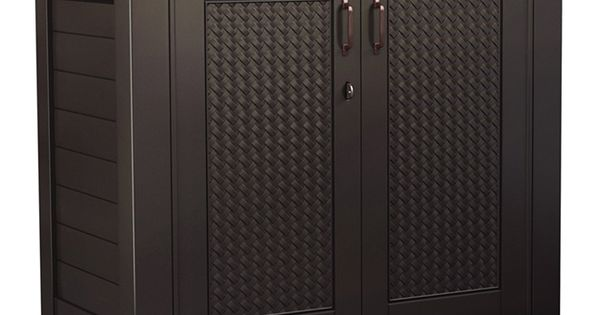 armoire de rangement chic de rubbermaid terrasse pinterest chic rangements et armoires. Black Bedroom Furniture Sets. Home Design Ideas