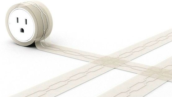 So awesome flat extension cord for under rugs
